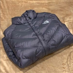 The North Face 550 Puffer Jacket Dusty Purple